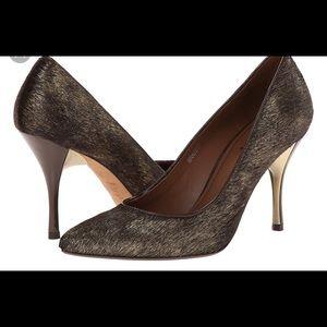 Donald J. Pliner BRAVESP-H-8 Metallic Heels
